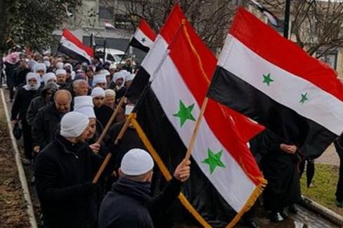 الجولان يحيي ذكرى 14 شباط في بيت الشعب ببقعاثا